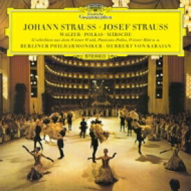 Strauss J(Family) シュトラウスファミリー / 雷鳴と電光〜シュトラウス・コンサート第2集 カラヤン&ベルリン・フィル(1969) 【SHM-CD】