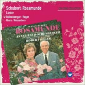 Schubert シューベルト / 『ロザムンデ』、歌曲集 ローテンベルガー、ヘーガー&バイエルン放送響、ムーア、他 輸入盤 【CD】