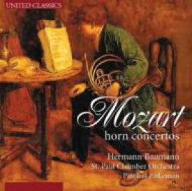Mozart モーツァルト / Horn Concerto, 1-4, : Baumann(Hr) Zukerman / St Paul Co 輸入盤 【CD】
