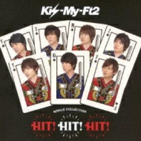 【送料無料】 Kis-My-Ft2 / SINGLE COLLECTION「HIT! HIT! HIT!」 【通常盤B】 【CD】