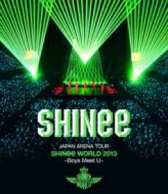 【送料無料】 SHINee / JAPAN ARENA TOUR SHINee WORLD 2013 〜Boys Meet U〜 【通常盤】(2Blu-ray+PHOTOBOOKLET) 【BLU-RAY DISC】