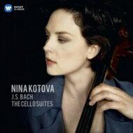 【送料無料】 Bach, Johann Sebastian バッハ / 無伴奏チェロ組曲全曲 ニーナ・コトワ(2CD) 輸入盤 【CD】