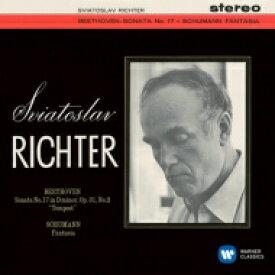 Beethoven ベートーヴェン / ベートーヴェン:ピアノ・ソナタ第17番『テンペスト』、シューマン:幻想曲 リヒテル 【CD】