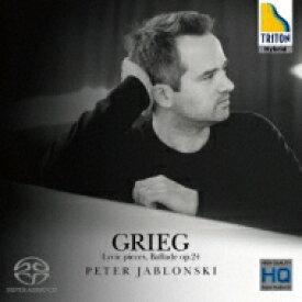 【送料無料】 Grieg グリーグ / 『抒情小曲集』より、バラード ペーテル・ヤブロンスキー 【SACD】