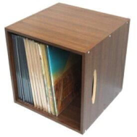 LPレコード用ラック 1マスタイプ(Wood) 【Goods】