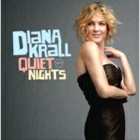 【送料無料】 Diana Krall ダイアナクラール / Quiet Nights (高音質盤 / 45回転 / 2枚組 / 180グラム重量盤レコード / Original Recordings Group / 10thアルバム) 【LP】