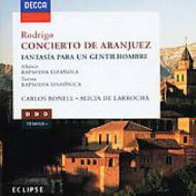 Rodrigo ロドリーゴ / Concierto De Aranjuez, Fantasia: Bonell, Dutoit / Montreal.so 輸入盤 【CD】
