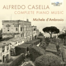 【送料無料】 Casella カゼッラ / ピアノ曲全集 ミケーレ・ダンブロージオ(3CD) 輸入盤 【CD】