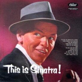 Frank Sinatra フランクシナトラ / This Is Sinatra (アナログレコード) 【LP】