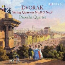 【送料無料】 Dvorak ドボルザーク / 弦楽四重奏曲第8番、第9番 パノハ四重奏団(2014) 【CD】