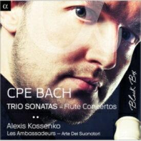 【送料無料】 Bach CPE バッハ / C.P.E.バッハ:トリオ・ソナタさまざま&フルートのための協奏曲の全て (全6曲) アレクシ・コセンコ(フラウト・トラヴェルソ) レザンバサドゥール 輸入盤 【CD】