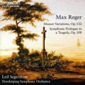 【送料無料】 Reger レーガー / Variation & Fugue, Symphonic Prologue: Segerstam / Norrkoping.so 輸入盤 【CD】