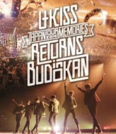 【送料無料】 U-kiss ユーキス / U-KISS JAPAN LIVE TOUR 2014 〜Memories〜 RETURNS in BUDOKAN (Blu-ray) 【BLU-RAY DISC】