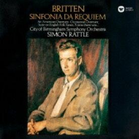 Britten ブリテン / Sinfonia Da Requiem: Rattle / City Of Birmingham So 【CD】
