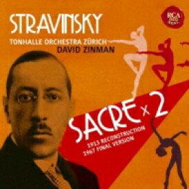 【送料無料】 Stravinsky ストラビンスキー / 『春の祭典』(1913年初稿版&1967年版) ジンマン&チューリッヒ・トーンハレ管弦楽団(2CD) 【BLU-SPEC CD 2】