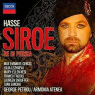 【送料無料】 Hasse ハッセ / 歌劇『シロエ』全曲 ペトルー&アルモニア・アテネア、ツェンチッチ、レージネヴァ、他(2014 ステレオ)(2CD) 輸入盤 【CD】