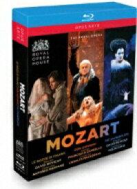 Mozart モーツァルト / 『フィガロの結婚』全曲(パッパーノ)、『魔笛』全曲(コリン・デイヴィス)、『ドン・ジョヴァンニ』全曲(マッケラス) コヴェント・ガーデン王立歌劇場(5BD) 【BLU-RAY DISC】