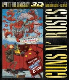 【送料無料】 Guns N' Roses ガンズアンドローゼズ / Appetite For Democracy: Live At The Hard Rock Casino - Las Vega: (+2CD) 【BLU-RAY DISC】