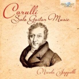 カルッリ(1770-1841) / ギター独奏曲集 ニコラ・ヤペッリ 輸入盤 【CD】