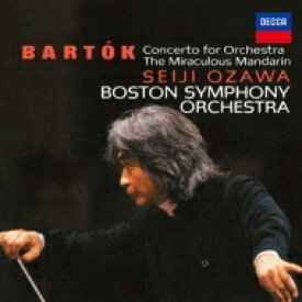 【送料無料】 Bartok バルトーク / 管弦楽のための協奏曲、中国の不思議な役人、弦チェレ、ヴィオラ協奏曲 小澤征爾&ボストン響、ベルリン・フィル、クリスト(2CD) 【BLU-SPEC CD 2】