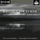 【送料無料】 Britten ブリテン / Nocturne, 4 Sea Interludes & Passacaglia: Britten / Lso Royal Opera House …