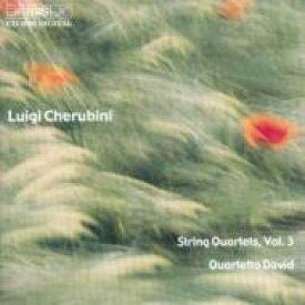 【送料無料】 Cherubini ケルビーニ / String Quartet.5, 6: Quartetto David 輸入盤 【CD】