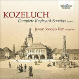 コジェルフ(1747-1818) / 鍵盤楽器のためのソナタ集第1集 キム・ジェニー・ソジン(フォルテピアノ)(2CD) 輸入盤 【CD】