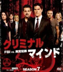 クリミナル・マインド / FBI vs. 異常犯罪 シーズン7 コンパクト BOX 【DVD】