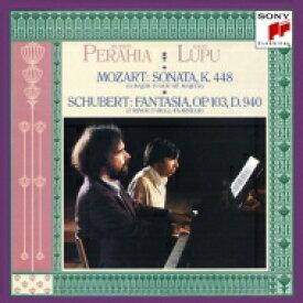 Mozart モーツァルト / モーツァルト:2台のピアノのためのソナタ、シューベルト:4手のための幻想曲、他 ペライア、ルプー 【CD】