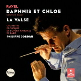 【送料無料】 Ravel ラベル / 『ダフニスとクロエ』全曲、ラ・ヴァルス フィリップ・ジョルダン&パリ・オペラ座管弦楽団 【SACD】