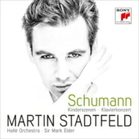 Schumann シューマン / ピアノ協奏曲、子供の情景 シュタットフェルト、エルダー&ハレ管 輸入盤 【CD】