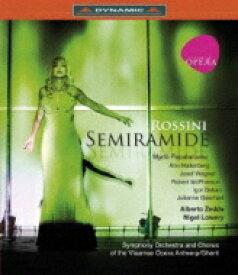 Rossini ロッシーニ / 『セミラーミデ』全曲 ローリー演出、ゼッダ&フランダース歌劇場、パパタナシウ、ハレンベリ、他(2011 ステレオ)(日本語字幕付) 【BLU-RAY DISC】