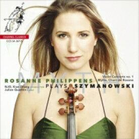 【送料無料】 Szymanowski シマノフスキ / ヴァイオリン協奏曲第1番、『神話』、ロクサーナの歌、他 フィリッペンス、シエン・チャン&オランダ・ナショナル・ユース管、クエンティン 輸入盤 【SACD】
