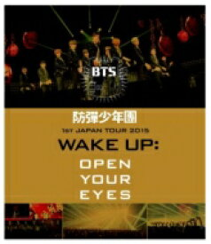 【送料無料】 BTS / 防弾少年団 1st JAPAN TOUR 2015「WAKE UP: OPEN YOUR EYES」 【BLU-RAY DISC】
