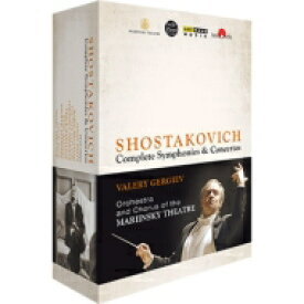 【送料無料】 Shostakovich ショスタコービチ / 交響曲全集、協奏曲全集 ゲルギエフ&マリインスキー歌劇場管弦楽団(2013〜14、パリ・ライヴ)(4BD) 【BLU-RAY DISC】