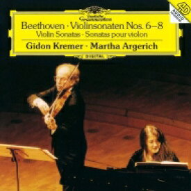 Beethoven ベートーヴェン / ヴァイオリン・ソナタ第6番、第7番、第8番 ギドン・クレーメル、マルタ・アルゲリッチ 【SHM-CD】