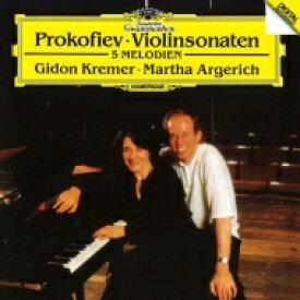 Prokofiev プロコフィエフ / ヴァイオリン・ソナタ第1番、第2番、5つのメロディ ギドン・クレーメル、マルタ・アルゲリッチ 【SHM-CD】