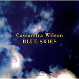 【送料無料】 Cassandra Wilson カサンドラウィルソン / Blue Skies (180g Gatefold) 【LP】