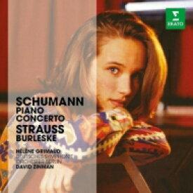 Schumann シューマン / シューマン:ピアノ協奏曲、R.シュトラウス:ブルレスケ グリモー、ジンマン&ベルリン・ドイツ響 輸入盤 【CD】