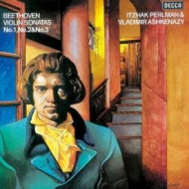 Beethoven ベートーヴェン / ヴァイオリン・ソナタ第1番、第2番、第3番 パールマン、アシュケナージ 【SHM-CD】