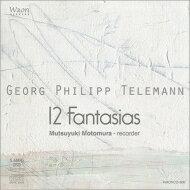 Telemann テレマン / 12の幻想曲 本村睦幸(リコーダー) 輸入盤 【CD】
