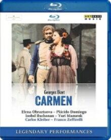 Bizet ビゼー / 『カルメン』全曲 ゼッフィレッリ演出、カルロス・クライバー&ウィーン国立歌劇場、オブラスツォワ、ドミンゴ、他(1978 ステレオ) 【BLU-RAY DISC】