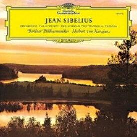 Sibelius シベリウス / フィンランディア、タピオラ、悲しきワルツ、トゥオネラの白鳥:ヘルベルト・フォン・カラヤン指揮&ベルリン・フィルハーモニー管弦楽団 (アナログレコード) 【LP】