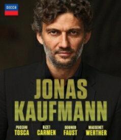 【送料無料】 ヨナス・カウフマン〜4つのオペラ全曲 トスカ、カルメン、ファウスト、ウェルテル(4BD) 【BLU-RAY DISC】