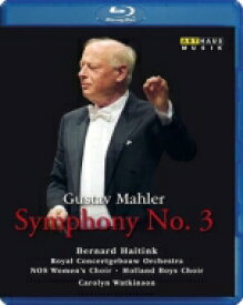 Mahler マーラー / 交響曲第3番 ハイティンク&コンセルトヘボウ管弦楽団(1983年ライヴ) 【BLU-RAY DISC】