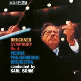 【送料無料】 Bruckner ブルックナー / 交響曲第4番「ロマンティック」(ノヴァーク版):カール・ベーム指揮&ウィーン・フィルハーモニー管弦楽団 (2枚組 / 180グラム重量盤レコード) 【LP】
