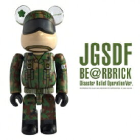 JGSDF BE@RBRICK Disaster Relief Operations Ver.(陸上自衛隊災害派遣部隊) 【Goods】
