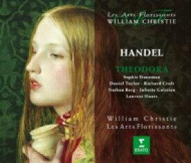 【送料無料】 Handel ヘンデル / オラトリオ『テオドーラ』 クリスティ&レザール・フロリサン(3CD) 輸入盤 【CD】