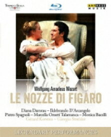 Mozart モーツァルト / 『フィガロの結婚』全曲 ストレーレル演出、コルステン&スカラ座、ダルカンジェロ、ダムラウ、他(2006 ステレオ)(日本語字幕付) 【BLU-RAY DISC】