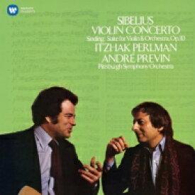 Sibelius シベリウス / シベリウス:ヴァイオリン協奏曲、シンディング:組曲 パールマン、プレヴィン&ピッツバーグ響 輸入盤 【CD】